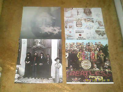 7 posters Beatles promo '76 Capitol Records posters PART of display:14 covers