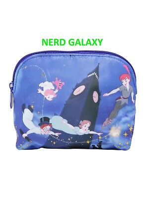Disney Peter Pan Flying Cosmetic Makeup Bag LICENSED! NEW! Loungefly! FREE SHIP!