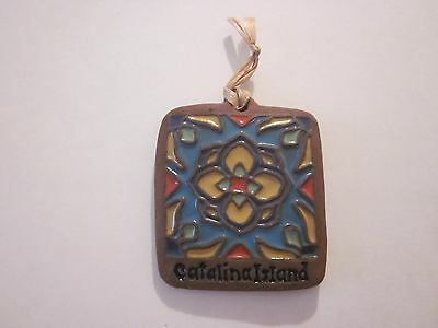 Catalina Island Tile Historical Decorative Paver Collectible #g