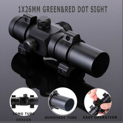 4-12X50EG Rangefinder Reticle Riflescope Red Laser & 20mm Rail Dot Sight Scope