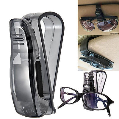 Car Sun Visor Glasses Sunglasses Ticket Receipt Card Mount Clip Storage HoldersS