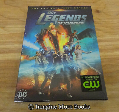 DCs Legends of Tomorrow: Complete First Season 1 (DVD, 2016) ~ NEW/SEALED