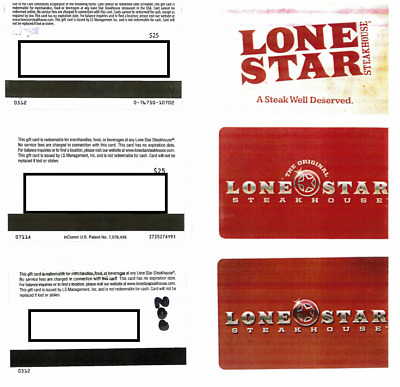 $50 Lonestar Steakhouse Gift Card • $34.99 - PicClick