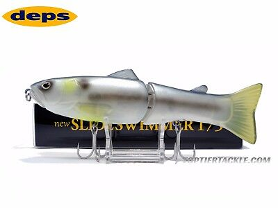 Deps Slide Swimmer 175 Slow Sink Jointed Swimbait - #32 Phantom Shad