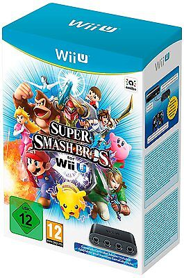 Wii U Game Super Smash Bros Gamecube Adapter for the New WiiU NEW