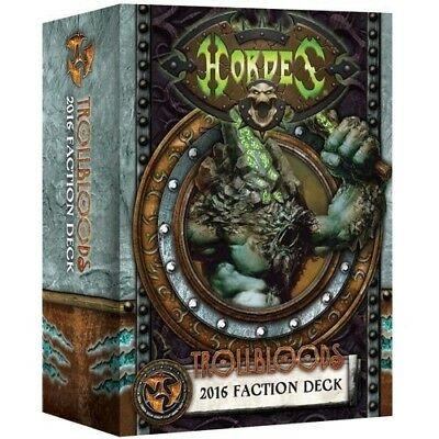 Hordes: Trollbloods 2016 Faction Deck PIP 91110