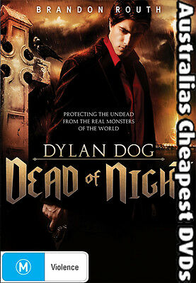 Dylan Dog - Dead Of Night DVD NEW, FREE POSTAGE WITHIN AUSTRALIA REGION 4