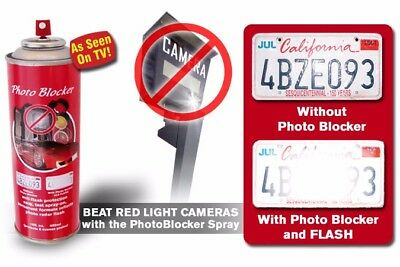 red light & speeding camera blocker license plate