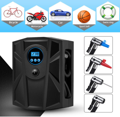 Portable Digital Tire Inflator DC 12V 120W Car Electric Air Compressor Pump