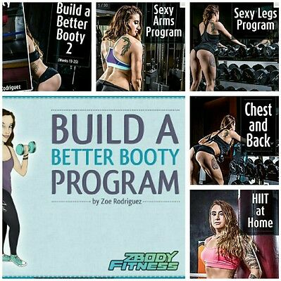 ! 7 GUIDES ! Zoe Rodriguez Build a Better Booty 2 Chest and Back Sexy Arms Legs