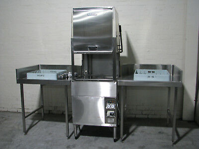 Commercial Kitchen Pass Through Dishwasher - Hobart AM-12E