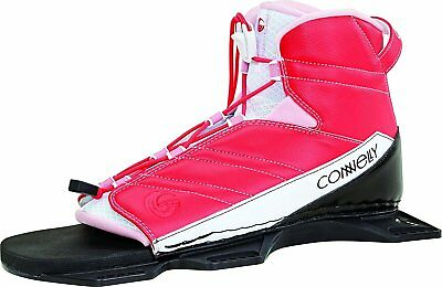 2 New Connelly Womens Pink Nova Water Ski Binding 2017 Front/Back S/M  Size 5/9
