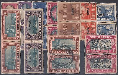 South West Africa Used Pairs - Nice Group High Catlogue