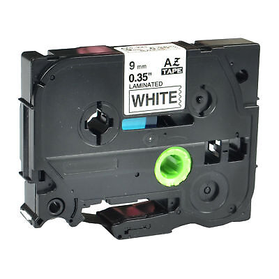 Compatible For Brother TZ-221 P-Touch Black On White Label Tape 9mm x 8m TZe-221