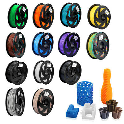 PETG/TPU/Holt PLA (Composite PLA) PLA/ABS 1.75mm /3mm Printer Filament 1KG/0.5KG