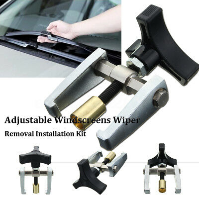 Adjustable Car Windshield Windscreen Wiper Arm Puller Removal Remover Repair Kit