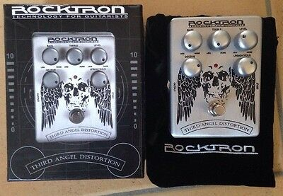 Rocktron Boutique Stompbox Third Angel pedale distorsione - Nuovo
