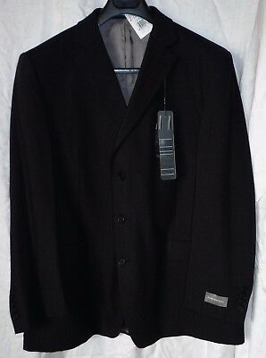 New M & S Ultimate Performance Wool Suite Jacket 48 Medium Charcoal Grey