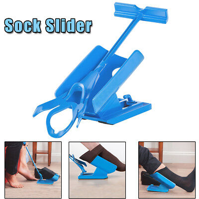 Sock Slider Aid Helper Dressing Easy On Off No Bending Stretching Mobility Kit