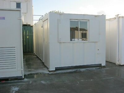 21ft x 9ft Anti Vandal Portable Cabin GOOD CONDITION shipping container man cave