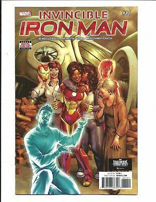 INVINCIBLE IRON MAN # 11 (NOV 2017), NM NEW (Bagged & Boarded)