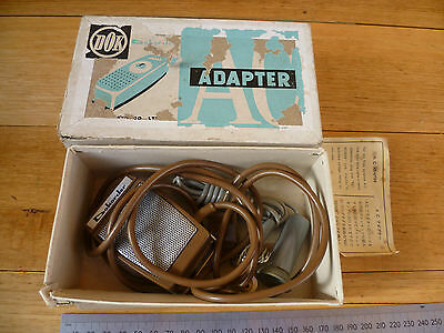 Vintage Old Radio Adapter Old Dokorder In Box