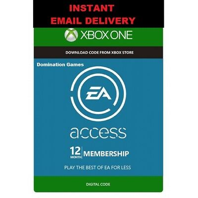 12 Month Ea Access (Instant Delivery!)