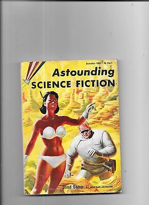 Astounding Science Fiction Sand Doom By Murray Leinster December 1955