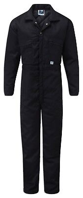 Thermal Navy Padded Coveralls Winter Overalls Outdoor Cold Store Work Boilersuit