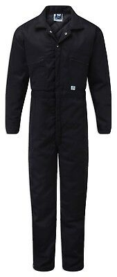 Thermal Padded Coverall Boilersuit Overalls Outdoor Cold Garage Work Sz S-XXL