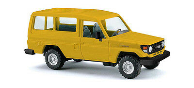 BUSCH HO scale - TOYOTA LAND CRUISER HZJ 78 - fully assembled plastic vehicle