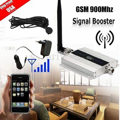 900MHz Mobile Cell Phone Antenna Amplifier Signal Booster GSM Repeater AL