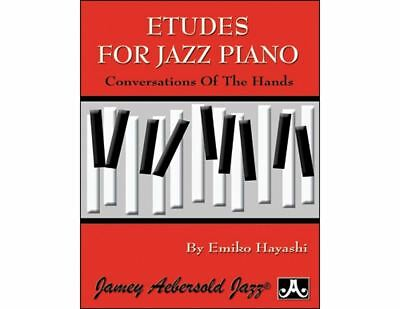 Etudes For Jazz Piano Conversations Of The Hands By Emiko Hayashi Book Neu