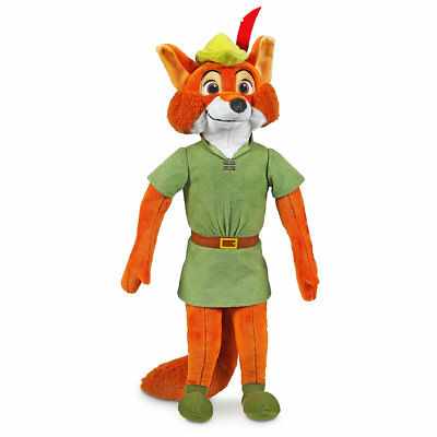 Disney Store Robin Hood Plush - Medium - 18'' New with Tag