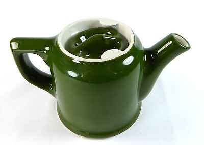 Hall China Individual Chicago Teapot Sunken Cover 8 oz Restaurant Ware Green 40