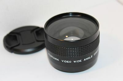 FUJIYAMA 0.45x WIDE ANGLE CONVERSION LENS fits 46mm FILTER THREADS , 67mm CAP !