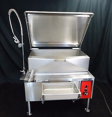 New! Vulcan 40 Gallon Electric Tilt Skillet Kettle Braising Fry Pan Ve40 480V