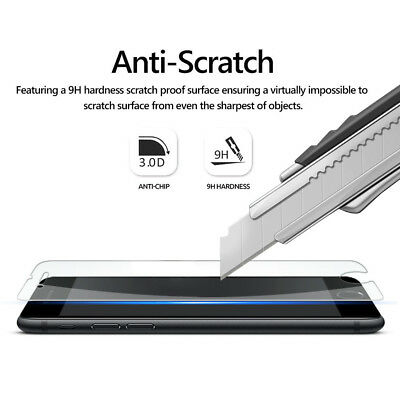 [2-Pack] Apple iPhone 8 Tempered Glass Screen Protector [Scratch-Resistant] CLR