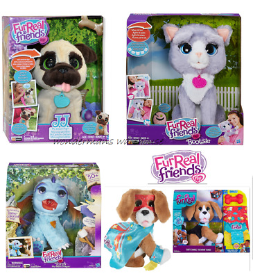 Furreal Friends Interactive Pets Bootsie/JJ Pet Toy Cat/Dog - Brand New & Sealed