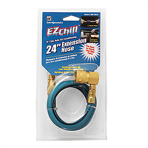 "Interdynamics EZ Chill R-134a Auto Air Conditioning 24"" Extension Hose MB-24EXT"