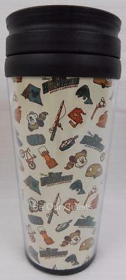 Disney Fort Wilderness Resort Campground Hot Cold Tumbler Cup New