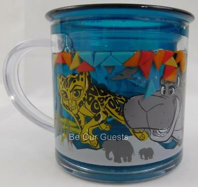 Disney Store Lion Guard Funfill Cup Mug Plastic New 6 oz. Meal Time Magic