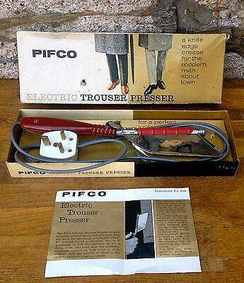VINTAGE PIFCO TROUSER PRESS works well