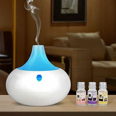 2 In 1 Colour Changing Humidifier Aroma Room Diffuser Purifier Oil Aromatherapy