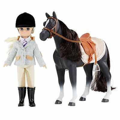 Doll Set by Lottie LT054 Pony Club Doll & Pony Set with Horse | Dolls - Clothes