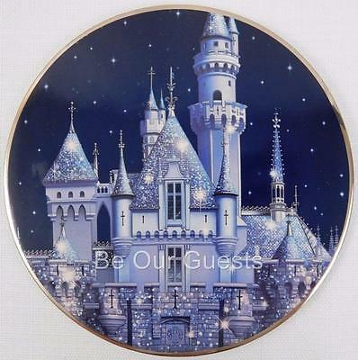 Disneyland Parks 60th Diamond Celebration Ceramic Castle Trivet New Hot Pad