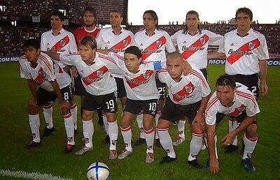 River Plate (Argentina) Home Football Shirt 2004