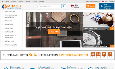 Mijand.com| Mens Quality Gifts & Access Online Business For Sale | Dropshipping