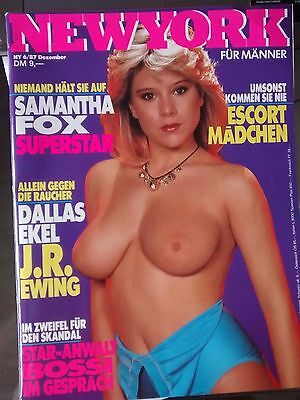 Samantha Fox - New York Magazine