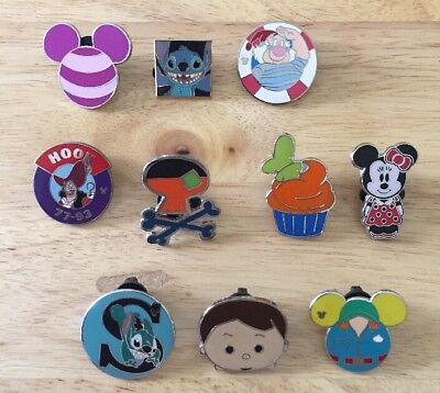 10 Disney Pins-Lot Of 10 Guaranteed Authentic Disney Pins-ONLY $1.20 EACH!!